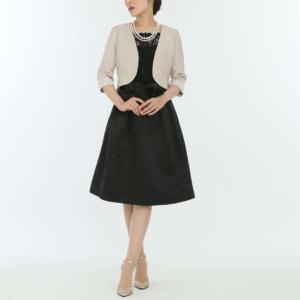 【ドレス3点SET】ブラック/L