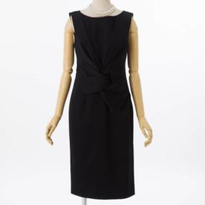 グレースコンチネンタルサテンクロスドレープドレス