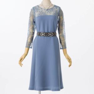 グレースコンチネンタルビジューベルトドレス