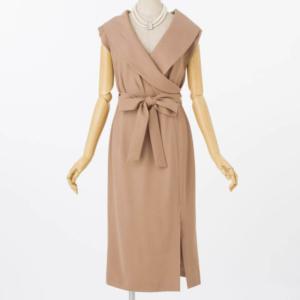 DSCダブルスタンダードクロージングのサイドスリットドレス