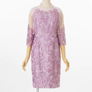 グレースコンチネンタル刺繍タイトのレンタルドレス