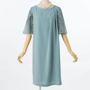 ジュシュペール袖レースタックのレンタルドレス