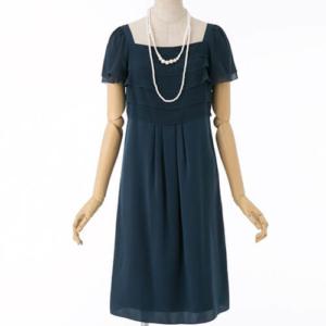 UNTITLEDアンタイトルのフリル切換えドレス
