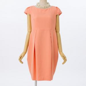 Select Shop 【授乳マタニティ】バックリボンレースドレス ピンク/M