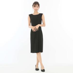 ブラックドレスモデル画像