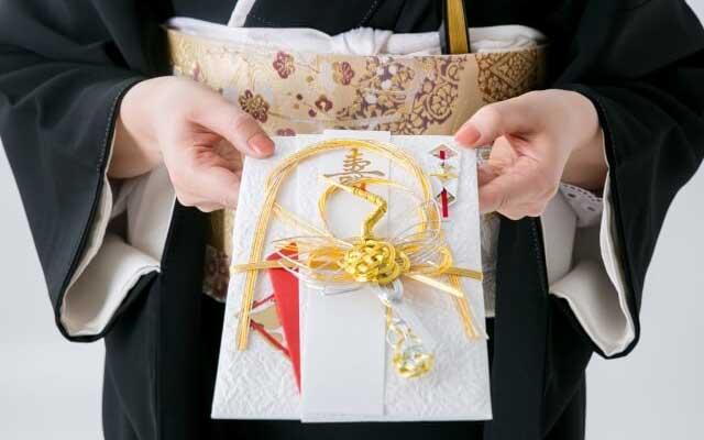 ご祝儀袋に書く名前・書き方と包み方[個人・夫婦・団体別]