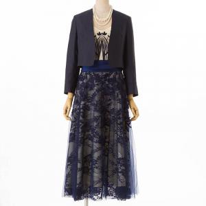 ドレス・羽織り・ネックレス3点セット