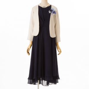 Je super 【ドレス3点SET】ジュシュペール ネイビー/M