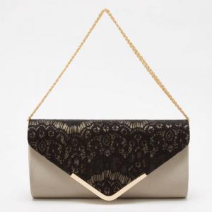 PREFERENCE プリファレンス レクタングル刺繍クラッチバッグ/2泊3日1,980円