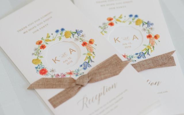 [返信マナーきほん]結婚式招待状の返信、書き方とメッセージ文例