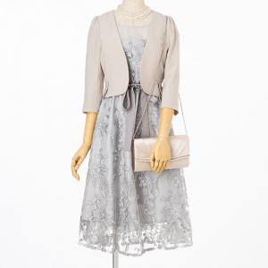 Select Shop 【ドレス3点SET】グレー