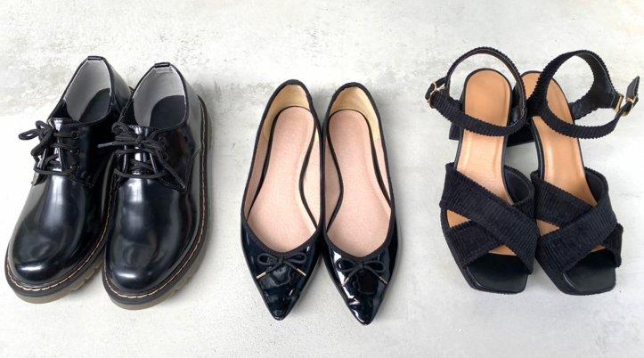 [NG4]つま先の見える靴