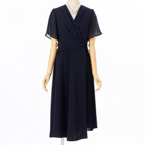 グレースコンチネンタル ドレーププリーツドレス