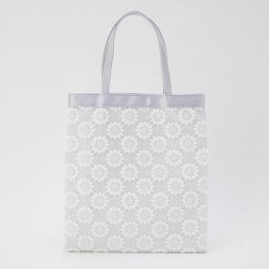 フラワー刺繍ラメサブバッグ
