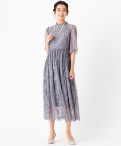 Dorry・Doll ドリードール  袖付き総レースドレス