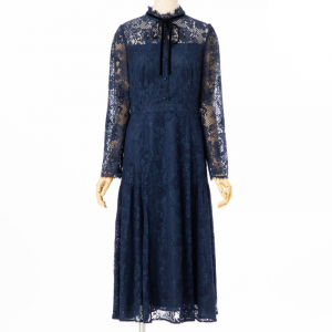 CELFORD セルフォード ボウタイレースドレス