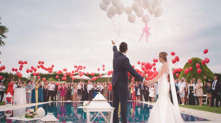 準備が整ったら、結婚式を楽しんで