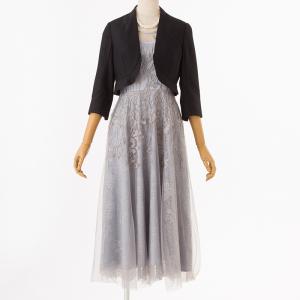 刺繍レースドレス