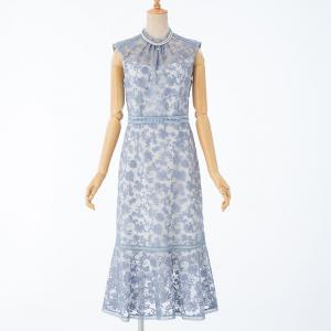 FRAY I.D フレイアイディー  オーガンジー刺繍ドレス