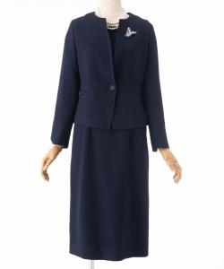 STRAWBERRY-FIELDS 【スーツ2点SET】ストロベリーフィールズ オディールブッチャーアンサンブルスーツ