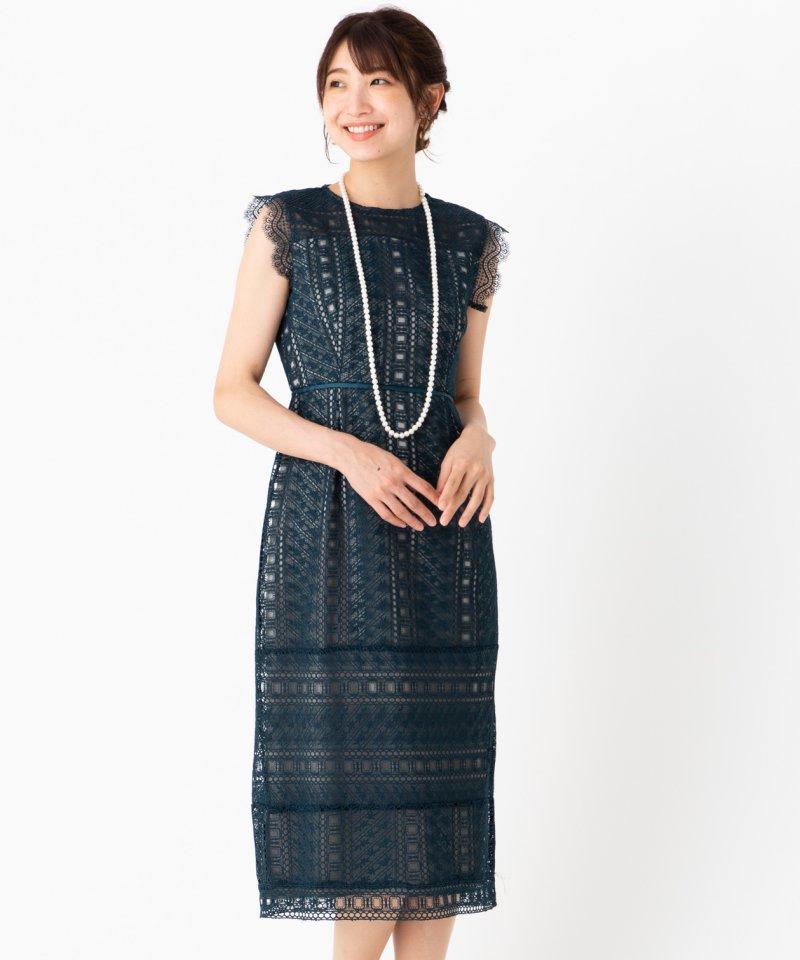 Select Shop ラダーレースドレス