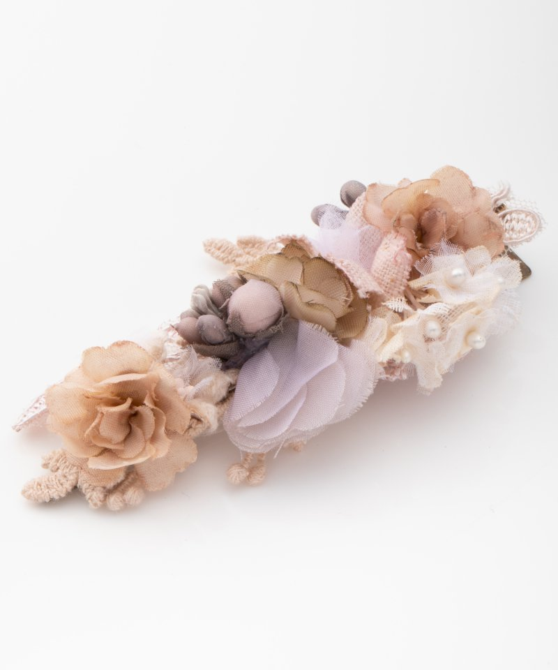 m.soeur エムスール 木の実レースとお花のクリップ